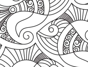 Soothing Designs Adult Coloring Book