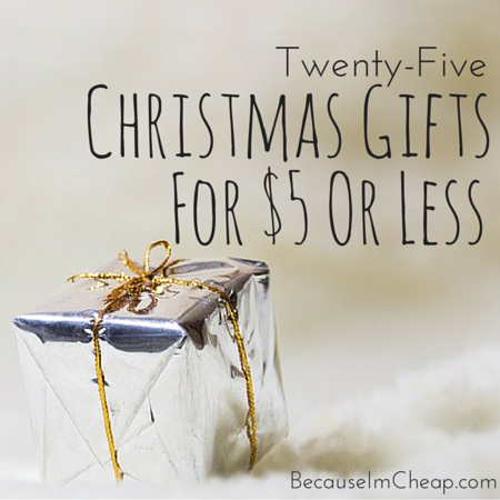 25 Christmas Gifts For $5 Or Less
