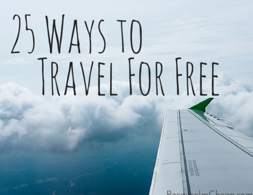 25 Ways To Travel For Free