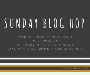 Sunday Blog Hop Rules