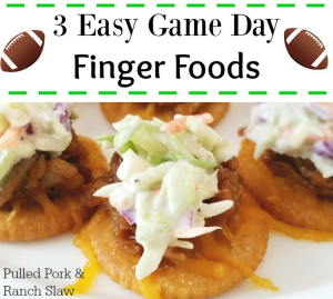 game day foods