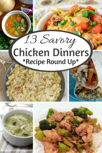 13 savory chicken dinners