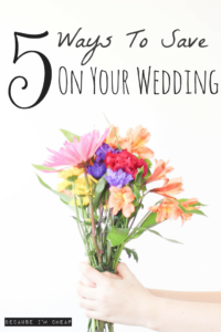 5 Simple Ways To Save Money Planning Your Wedding