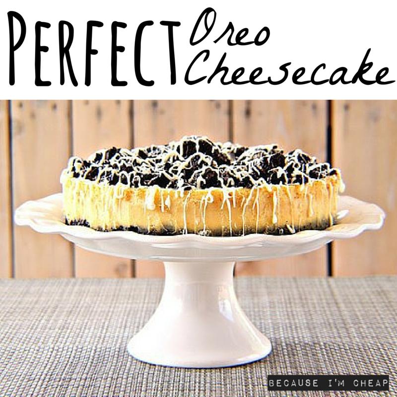 How To Bake A Perfect Oreo Cheesecake