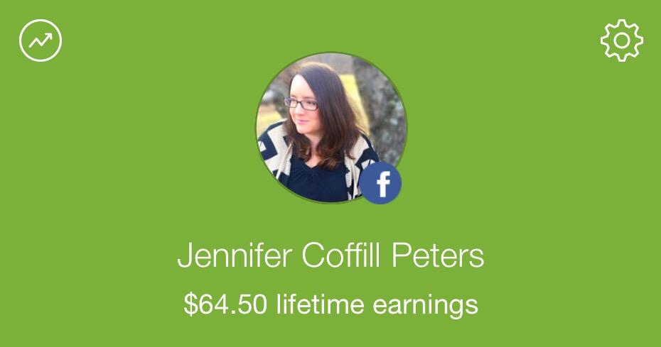 I've earned $64.50 cashback on groceries!