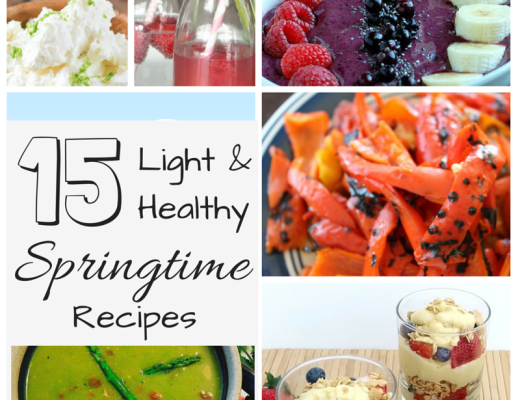 15 light and healthy springtime recipes